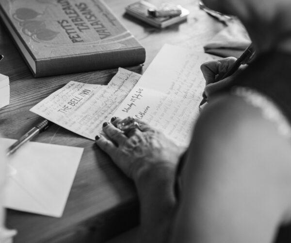 Escribir para no olvidar. Enfermedad del olvido